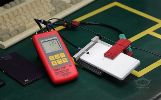 Test air tightness pressure