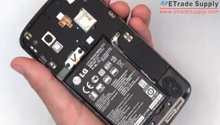 how to replace the Nexus 4 battery