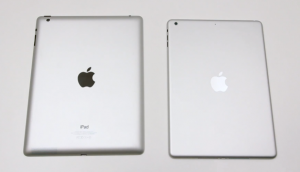 iPad 5 Casing Detailed Comparison with the iPad Mini 2