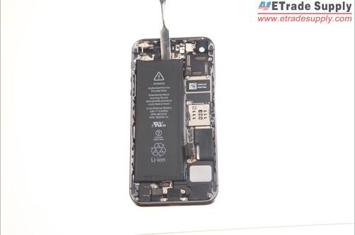 remove 5S battery