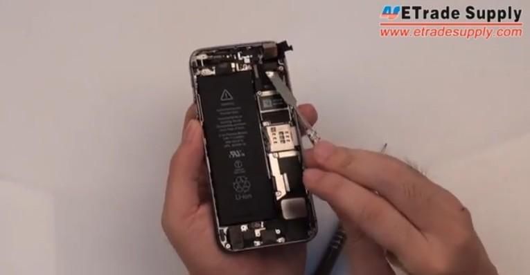 remove 5S front facing camera