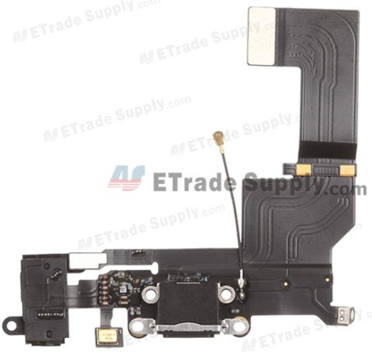 new iPhone 5S charging port with earphone jack