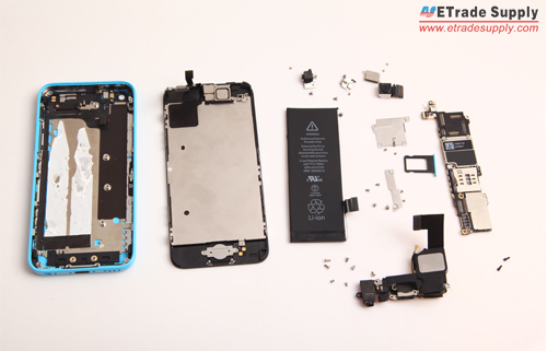 iPhone 5C Teardown Parts