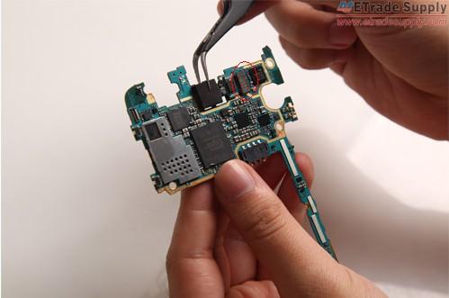 install the rear facing camera