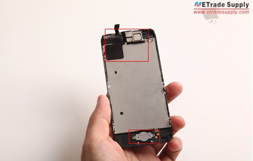 iPhone 5C LCD display assembly