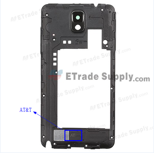 AT&T samsung galaxy note 3 model number