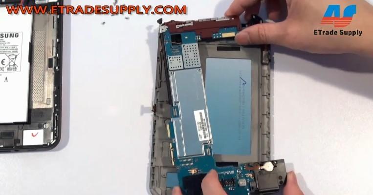 Galaxy Tab P1000 motherboard