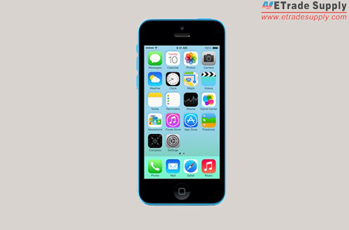 Power on the iPhone 5C