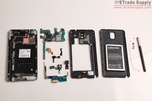 Samsung Galaxy Note 3 reassembly