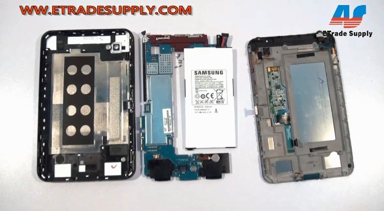Galaxy Tab P1000 Repair Tutorial Step By Step Disassembly