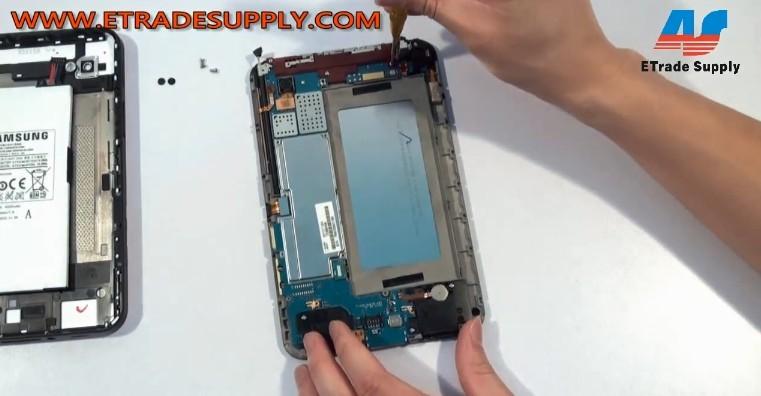 remove Galaxy P1000 screws repair