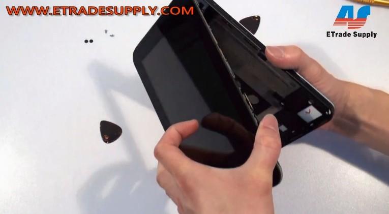 remove Samsung Tab P1000 tablet screen