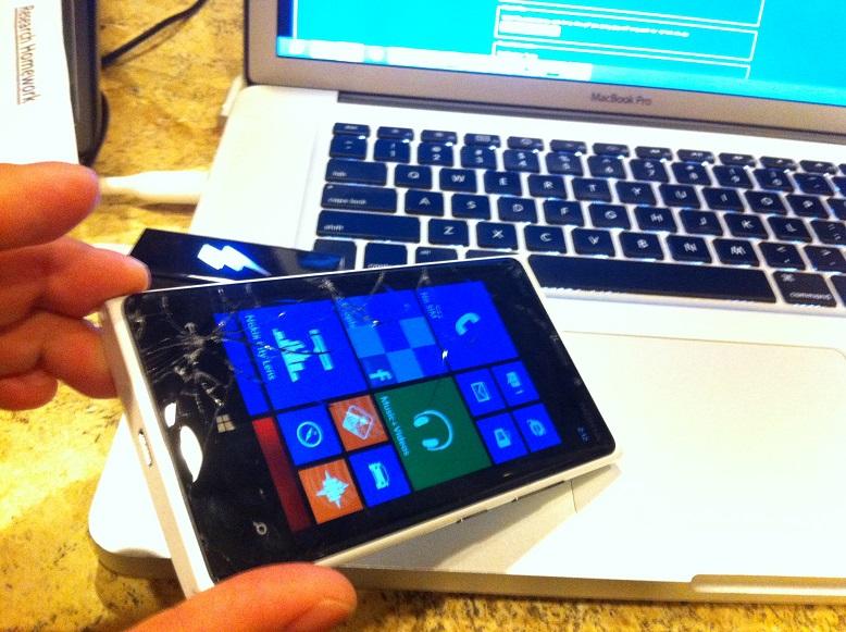 nokia lumia 920 blue. tutorial: how to repair cracked nokia lumia 920 screen blue