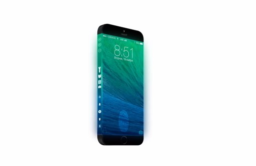 iPhone 6 warp around screen concept