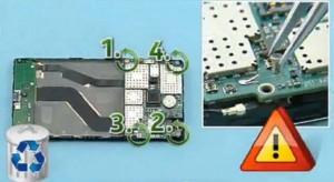 Remove the 4 screws