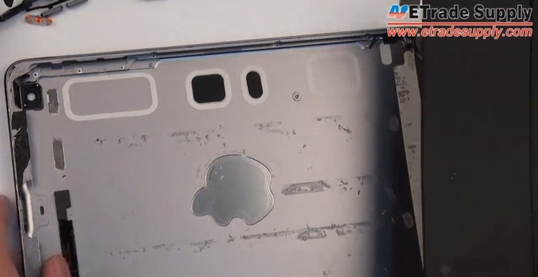 iPad mini 2 is completedly take apart