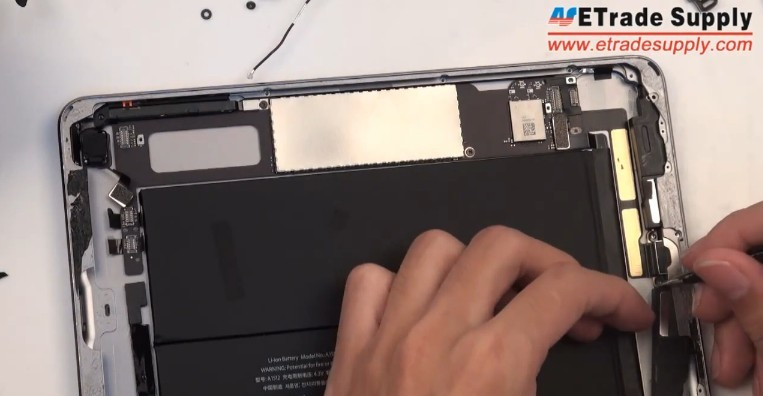 remove loud speaker of iPad Mini 2