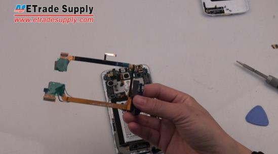 LG G2 Charging Port Flex Cable Ribbon
