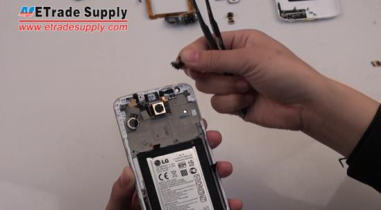 Peel the LG G2 sensor off