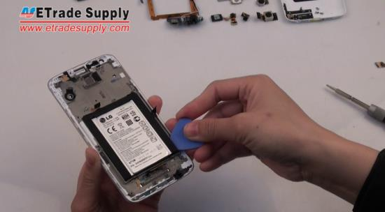 Release the LG G2 battery