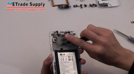 Remove the LG G2 vibrating motor