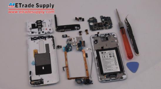 Repair LG G2 by Disassembling Parts or Screen