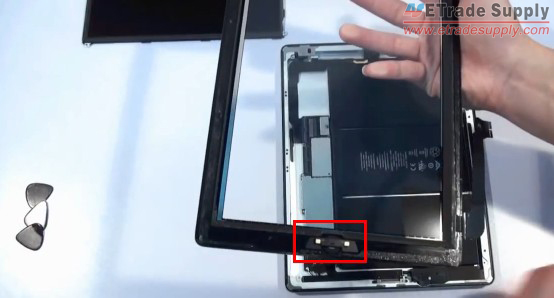 transfer the home button from the old digitizer to the new one