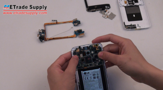 Install the LG G2 logic board