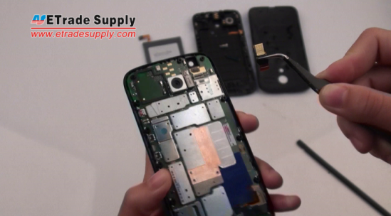 Motorola Moto G front facing camera is removed
