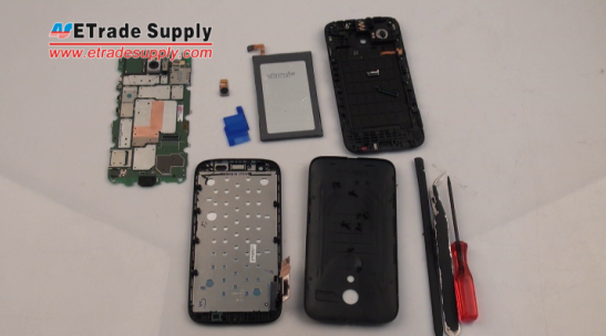 Motorola Moto G step-by-step disassembly tutorial