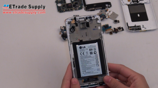 Reassemble LG G2 for Parts Repair