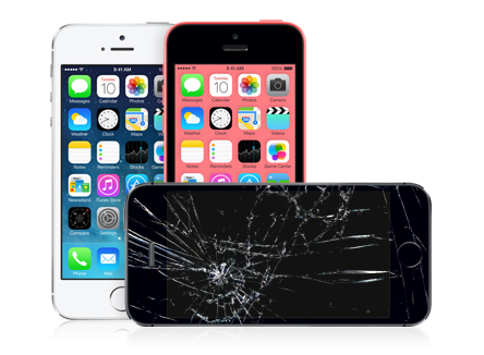 iphone 5c cracked screen iphone 5s or 5c screen repair guide 1794