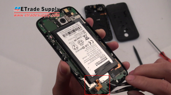 remove the Moto G battery