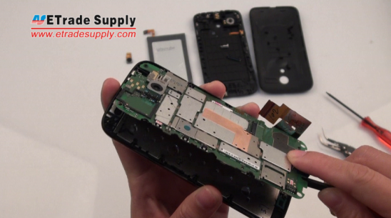 remove the Moto G motherboard