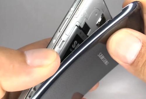 smontare Galaxy S4 Mini e sostituire lo schermo