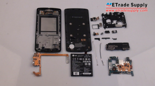 Disassemble Nexus 5 for Screen or Parts Repair