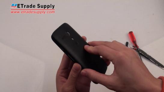 Install the Moto G battery door