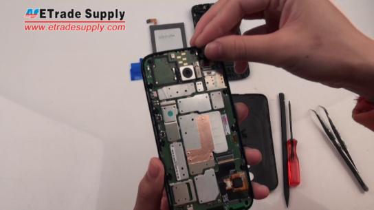 Install the Moto G front facing camera