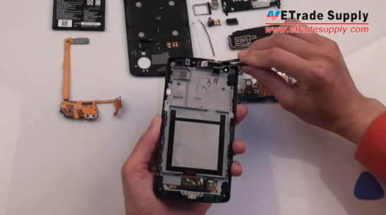Remove the Nexus 5 ear speaker