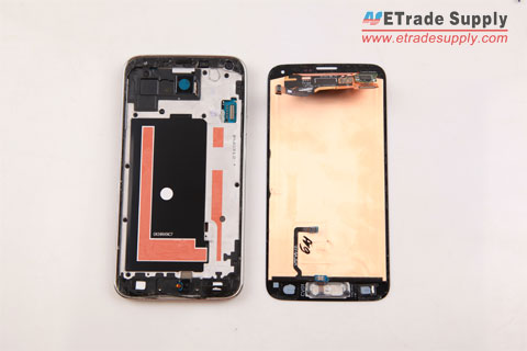 Samsung Galaxy-S5-screen-is-removed