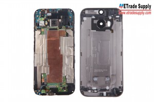 The LCD Assembly and Rear Housing are separated