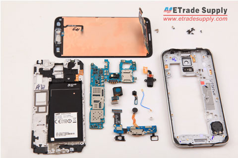 Repair Broken Galaxy S5 Screen and Other Parts after Teardown