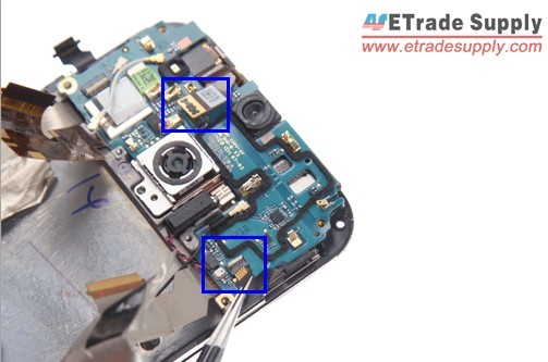 disconnect the M8 two connectors