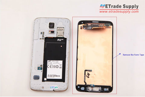 remove-Samsung-Galaxy-S5-form-tape