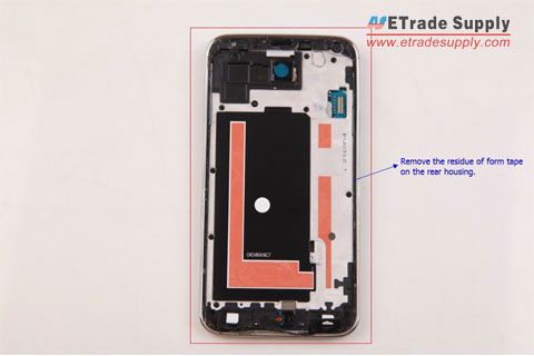 remove-form-tape-on-Galaxy-S5-rear-housing
