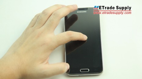 the galaxy s5 screen protector is self-absorsion