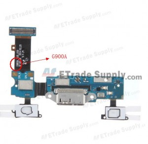 Galaxy S5 SM-G900A Charging Port Flex