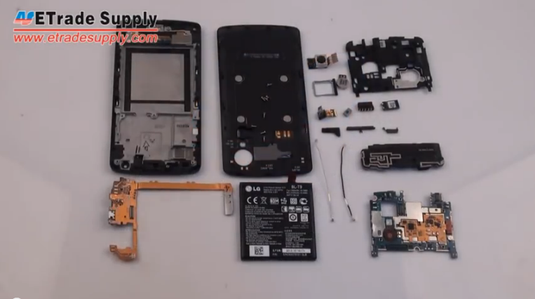 Nexus 5 reassembly steps