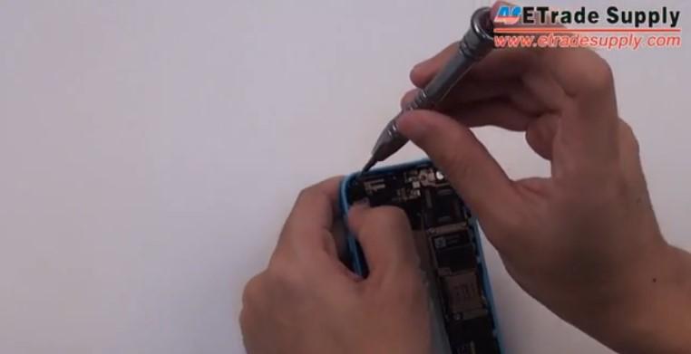 Install the vibrating motor