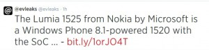 Lumia 1525 said to be coming to ATT, VERIZON